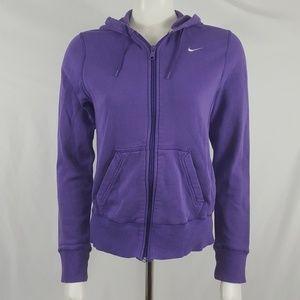 Nike purple hoodie sweatshirt jacket Sz M